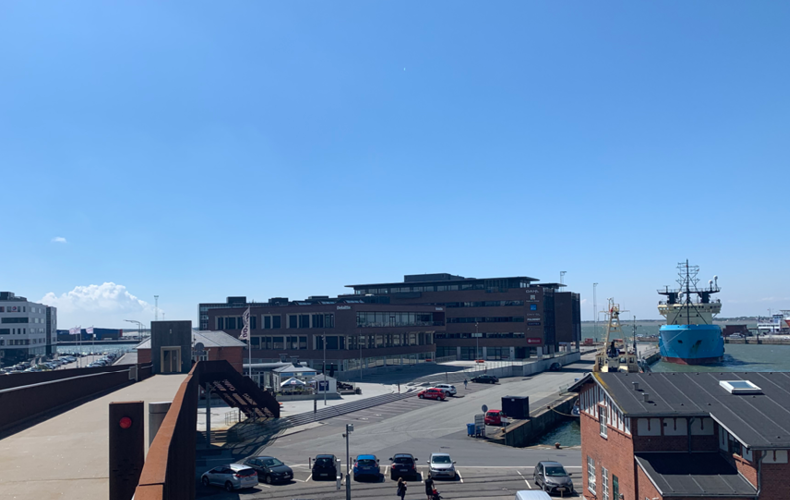Deloittes bygning på havnen i Esbjerg